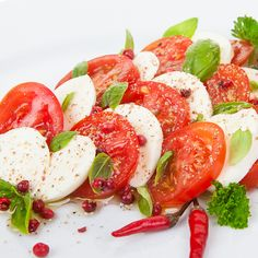 Almost too simple of a salad recipe to actually have a recipe for....but hey, we love this salad, and this recipe is a great reminder.. Caprese Salad Recipe from Grandmothers Kitchen. Follow us on Pinterest.