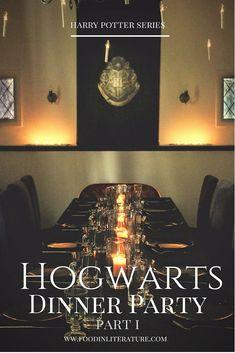 A Harry Potter Hogwarts Dinner Party – Presents For Mom Objet Harry Potter, Harry Potter Decor, Harry Potter Houses, Harry Potter Hogwarts, Potters House, Diy Hanging Shelves, Birthday Dinners, Severus Snape, Birthday Presents