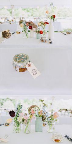garden flowers | diy wedding decor | pastel palette wedding | #weddingchicks