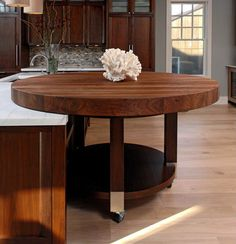Superieur Round Butcher Block Table By $0 | Home | Pinterest | Butcher Block Tables, Block  Table And Butcher Blocks
