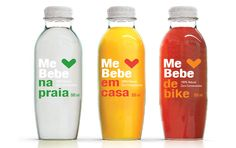 Me bebe | packaging | branding | natural juice | beverages | award | by Packaging Brands