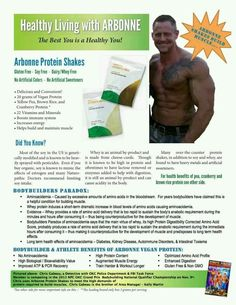 Arbonne healthy vegan protein shakes are a GREAT choice for athletes!!