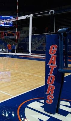 University of Florida Carbon Volleyball Net System | Indoor ...