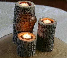 Branch Candle Set, would be great for the patio.
