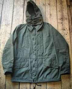 1960's Blacks of Greenock Mountaineering Jacket // Stormproof Cuffs & Collar // Finely Woven Ventile Cloth // Stow-away Triple Button Hood // Made in Scotland