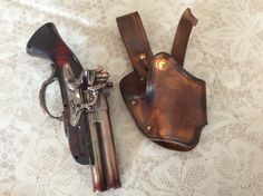 A nice little holster made for a special person ...