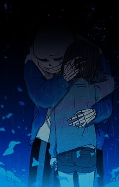 Sans and Frisk | Artist Lazuen