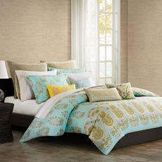 Echo Design™ Paros Duvet Cover - Bed Bath & Beyond