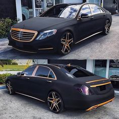 Mercedes Benz – One Stop Classic Car News & Tips Luxury Sports Cars, Top Luxury Cars, Sport Cars, Mercedes Auto, Mercedes Benz Cars, Gold Mercedes, Bugatti Veyron, Jdm, Dream Cars