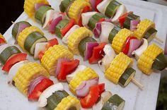 Gemüse - Grillspieße 7 Zucchini, Pasta Salad, Sushi, Ethnic Recipes, Food, Google, Home, Popular Recipes, Crickets