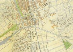 Na mape z roku 1938 sa štvrť s novými ulicami oproti sladovni volá Hurbanov