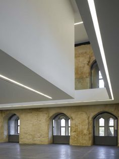 Old and new coming together in the Moritzburg Museum extension by Spannish architects Nieto Sobejano.