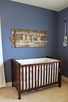 The Pledger Family Jack S Nautical Nursery Baby Theme