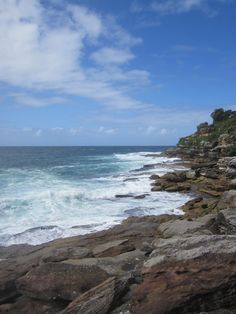 Beach in Aus