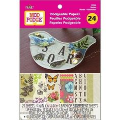 Plaid Mod Podge 12940 Podgeable Paper Flip Books, Nature by Plaid Mod Podge, http://www.amazon.com/dp/B007WDWE3E/ref=cm_sw_r_pi_dp_e.Absb1809K5M