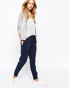 Jack+Wills+Crepe+Slouchy+Woven+Trouser