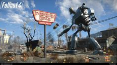 The Iron Giant Destroys Everything In This 'Fallout 4' Mod