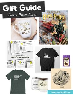 8 gift ideas for Harry Potter lovers | Favors & Stuff