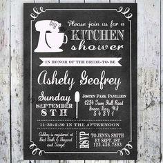 Kitchen Bridal Shower Invitation  Printable by BigDayInvitations, $12.49