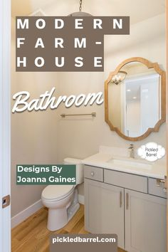 Joanna Gaines would love these modern farmhouse bathroom ideas. Black and white, wood accents, and unexpected colors and accessories make your farmhouse bathroom stand out! #pickledbarrelblog #modernfarmhousebathroomideas Indian Home Decor, Fall Home Decor, Home Decor Kitchen, Unique Home Decor, Home Decor Styles, Cheap Home Decor, Bathroom Stand, Bathroom Ideas, Bathroom Storage