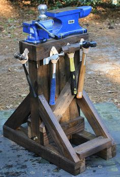 Work-stand for Anivil and Vise, ready for use by demosthenes1blackops