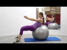Skvělé cviky na břicho - YouTube Beautiful Figure, Relax, Health Fitness, Gym, Pilates, Youtube, Beauty, Diet, 6 Pack Abs