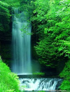 Glencar Waterfall in Leitrim Ireland