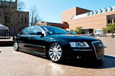 Audi A8 at the Red Square Car Show at UW