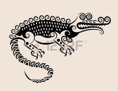 Decorative crocodile ornament