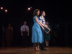 New swing musical Bandstand opens at Paper Mill Playhouse with Laura Osnes, Corey Cott, Beth Leavel, curtain calls