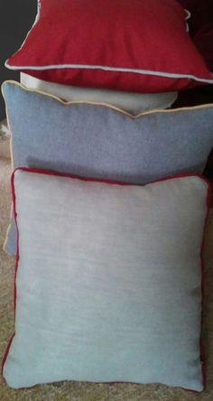 cuscini in lino