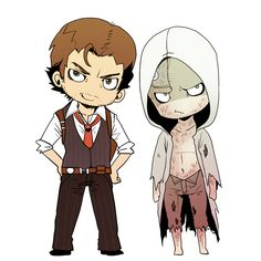 Sebastian and Ruvik