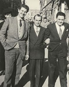 Mikis Theodorakis, Manos Hatzidakis and Andreas Paridis, Rome, Greek Dancing, Greece Pictures, Greece Photography, Black And White Face, Greek Culture, Greek Music, Greek Art, Yesterday And Today, Love Photos