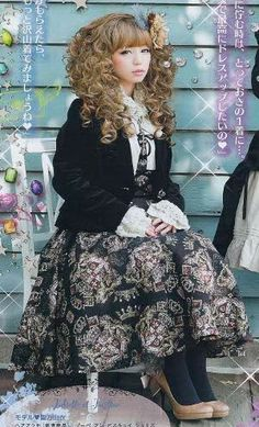 Juliette et Justine Coord. I want this entire outfit. Ugh. Or something custom from them. . .