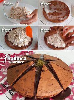 Volcano Cake Recipe, How To - yemek tarifi Homemade Desserts, Easy Cake Recipes, Volcano Cake, Turkish Sweets, Brownie Cheesecake, Pie Dessert, Turkish Recipes, Chocolate Brownies, Summer Desserts