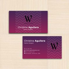 31 best business card design and template images on pinterest professional business card calling card template custom printable fashion designer reheart Gallery