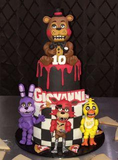 five nights at freddy birthday cake Five Nights at Freddy's birthday cake. | Birthdays | Pinterest  five nights at freddy birthday cake