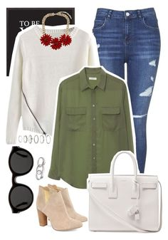 """""""simple day"""" by makeupgoddess ❤ liked on Polyvore"""