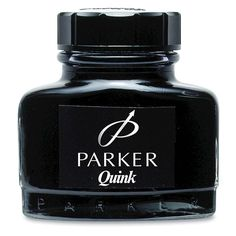 Bottle of ink - it smelled so good!...stained my hands..and white school shirts...):mar16