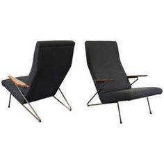 Rare Koene Oberman Lounge Chairs, 1956
