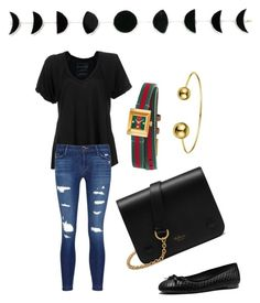 """My fave colors"" by ran616 on Polyvore featuring Free People, J Brand, Mulberry, Gucci and MICHAEL Michael Kors"