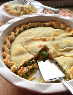 Easy Tuna Pot Pie