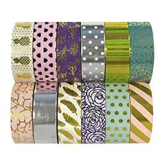 Gift Wrapping Planner Scrapbook Faithful 25 Colorful Washi Tape Decorative Masking Tape For Diy Crafts Kids Art Projects Journal