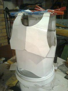 Cardboard DIY storm trooper