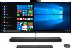 "HP - ENVY Curved 34"" All-In-One - Intel Core i7 - 16GB Memory - 256GB Solid State Drive - Black - Alt_View_Zoom_2"