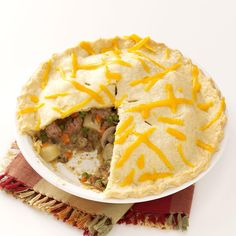 Hometown Pasty Pies Recipe -I prepare these in advance and freeze them for a quick dinner later…or to share with a friend or neighbor. The meaty baked pies make a hot, filling meal. —Jen Hatlen, Edgerton, Wisconsin