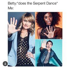Betty's serpent dance