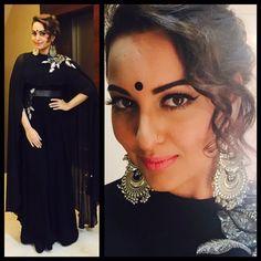 @sonakshisinha ready for @srbachchan family Diwali Bash for ' #Bollywood ' Nov, 2015