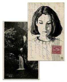 twin peaks postcard donna