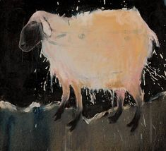 Mel McCuddin, Sheep Dip 2008, oil on canvas